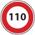 110km/h