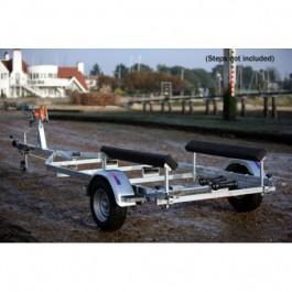 Indespension Dipper 1 Single Axle Marine Trailer