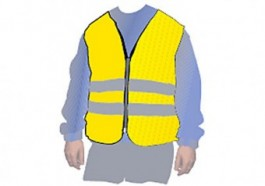 High VisibilitySafety Vestxl Yellowmp119