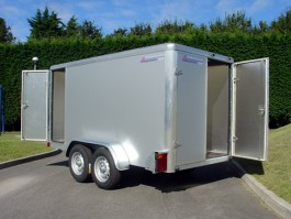 Indespension Tow a Van 5 Twin Axle Braked Box Trailer TAV5