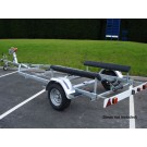 Indespension Dipper 2 Single Axle Marine Trailer
