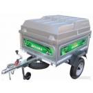 Daxara 127 Trailer With Lockable Hard Top Cover