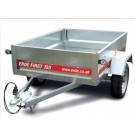Erde First 150 Trailer, 4ft 9inches x 3ft 3 inches, 650kgs