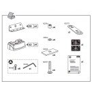 Thule Rapid Fixpoint XT Foot Fitting Kits 3027