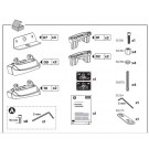 Thule Rapid Fixpoint XT Foot Fitting Kit 3028