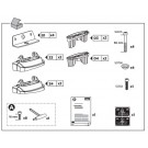 Thule Rapid Fixpoint XT Foot Fitting Kits 3030