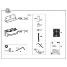 Thule Rapid Fixpoint XT Foot Fitting Kits 3061