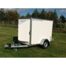 Blue Line 7' x 4' x 5' Single Axle Box Van Trailer  BLV13074