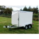 Blue Line 7' x 4' x 5' Tandem Axle Box Van Trailer  BLV15074