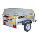 ABS hard top cover for an Erde 163
