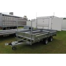 Indespension Flatbed 10ft x 5ft 6 in Twin Axle Trailer FTL27105