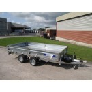Indespension Flatbed 10ft x 5ft 6 in Twin Axle Trailer FTL35106