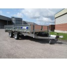 Indespension Flatbed 12ft x 6ft 6 in Twin Axle Trailer FTL35136
