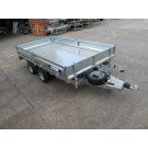Indespension Flatbed 14ft x 6ft 6 in Twin Axle Trailer FTL35136