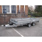 Indespension Flatbed 16ft x 6ft 6 in Twin Axle Trailer FTL35166