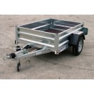 Indespension GT13064 Fixed Sided Goods 6ft x 4ft1 Single Axle Trailer