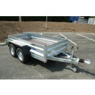Indespension GT26084 Fixed Sided Goods 8ft 3in x 4ft 1in Twin Axle Trailer