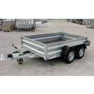 Indespension GT26085 Fixed Sided Goods 8ft 3in x 5ft 1in Twin Axle Trailer