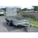 Indespension GT26126 Fixed Sided Goods 12ft x 5ft 8in Twin Axle Trailer