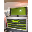 Beta Tools Portable Tool Chest with Eight  Drawers Green C23 SC-Gn