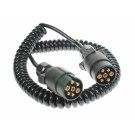 Connecting Lead Curly 3m 12N 2x7Pin Plugs mp5884