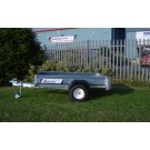 Indespension SE750 Range SE07064 750kgs Goods 6ft 6in x 4ft Unbraked Single Axle Unbraked Trailer