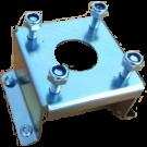 Motolug spare wheel support bracket