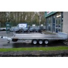 "Indespension Tiltdeck 3500kg 15' 9"" x 7"" Tri Axle Car Transporter TD35167T"