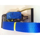 Tensys 4 X Heavy Duty Ratchet Straps 10m Long x 50mm Wide