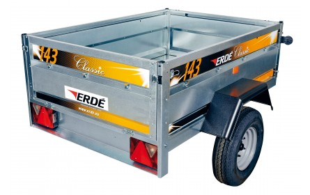 Erde 143.2 Trailer, 4ft 9inches x 3ft 3inches