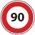 90km/h