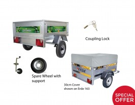 Daxara 127.2 30cm Cover Trailer Package