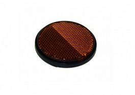Reflector - Side  Amber  Round Self Adhesive MP155SSB