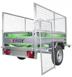 Daxara 158.2 Mesh Trailer Package Mode show is the larger Daxara 198.2