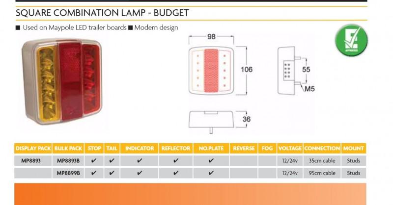 Led Trailer Lights Wiring Diagram from www.hammersleys.com