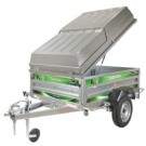 Daxara 158 Trailer with ABS Hard Top Cover