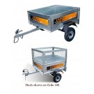 Erde 122.2 Mesh Trailer Package