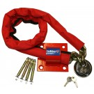 Bulldog MC30 High Security Chain Padlock And Ground Anchor